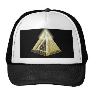 All Seeing Eye Pyramid Hat