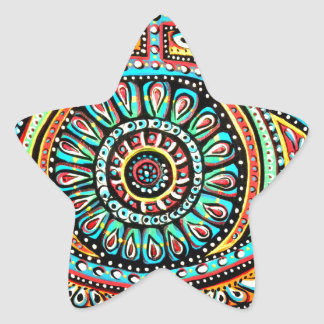 All Seeing Eye Star Sticker