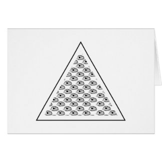 All Seeing Eye T-shirt Card
