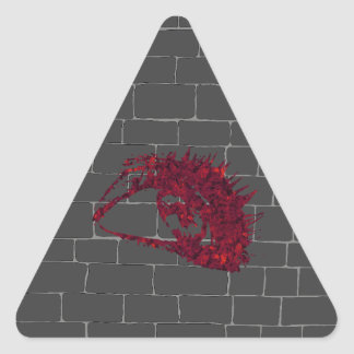 All-Seeing Eye Triangle Sticker
