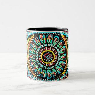 All Seeing Eye Two-Tone Coffee Mug