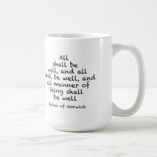 All shall be well mug