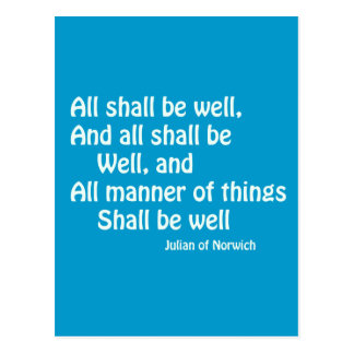All Shall Be Well Post Cards
