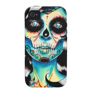 All Shook Up Sugar Skull Girl Case-Mate iPhone 4 Cases