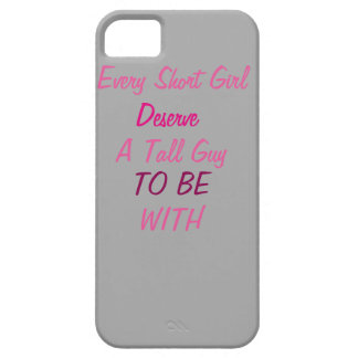 ALL SHORT GIRL iPhone SE/5/5s CASE
