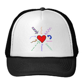 All signs point to love trucker hat