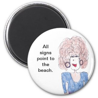 All signs point to the beach magnet