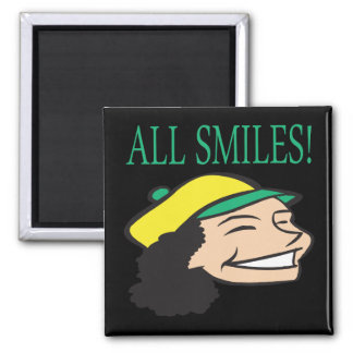 All Smiles Refrigerator Magnets