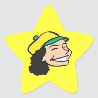 All Smiles Star Sticker