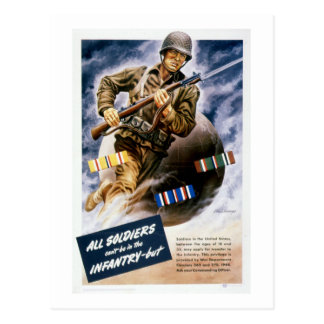 All Soldiers Can t be in the Infantry Postcards