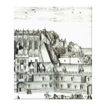 All Souls College, Oxford University, 1675 Gallery Wrap Canvas