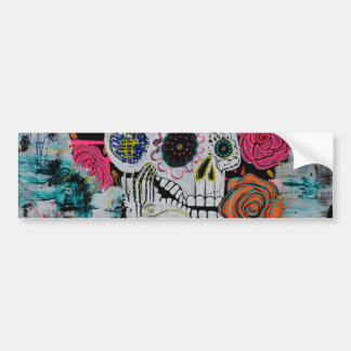 All Souls Day Art Bumper Sticker