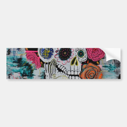 All Souls Day Art Bumper Stickers
