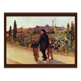 All Souls' Day By Bastien-Lepage Jules (Best Quali Postcard