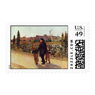 All Souls' Day By Bastien-Lepage Jules (Best Quali Stamps
