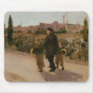 All Souls' Day, c.1882 Mouse Pad