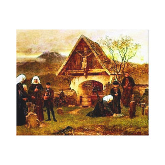 All Souls Day Canvas Print