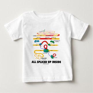 All Spliced Up Inside (RNA Splicing) Baby T-Shirt