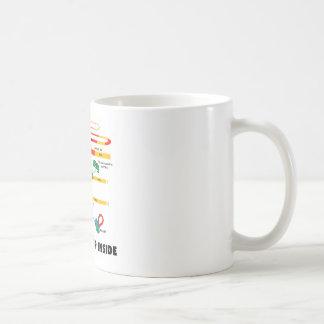 All Spliced Up Inside (RNA Splicing) Coffee Mug