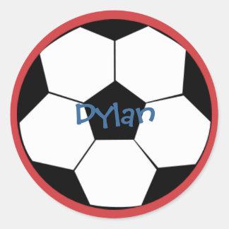 All Sport SOccer Classic Round Sticker