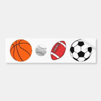 All Sports Bumper Sticker