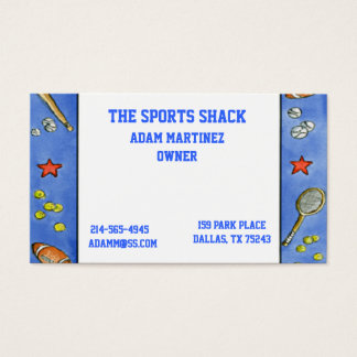 All Sports Business Card
