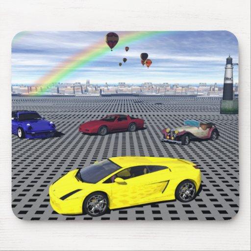 All Sports Cars Mousepad Mousepads