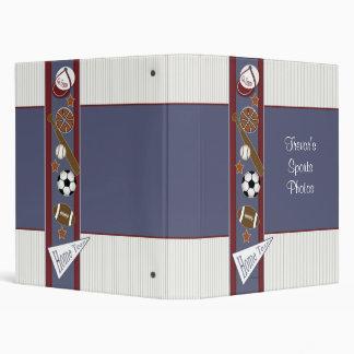 All Sports Child s Photo Book Vinyl Binders