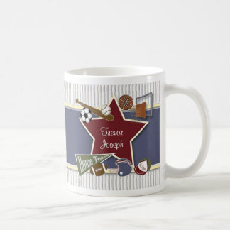 All Sports Matching Template Mug