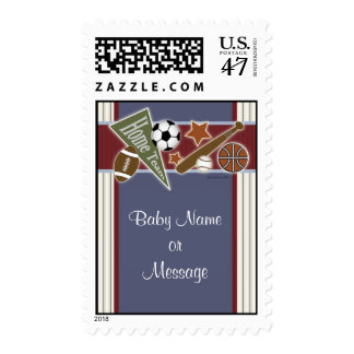 All Sports Postage Template