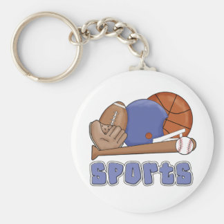 All Sports T-shirts and Gifts Keychain