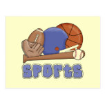 All Sports T-shirts and Gifts Postcard