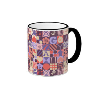 All Squared Up Ringer Mug