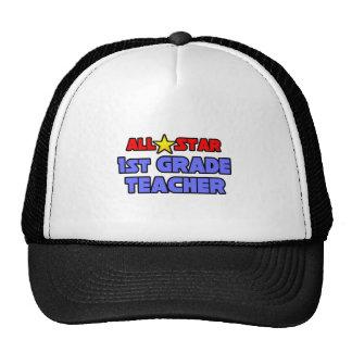 All Star 1st Grade Teacher Trucker Hat