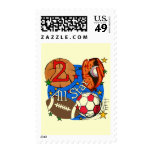 All Star 2nd Birthday Tshirts and Gifts Postage Stamps