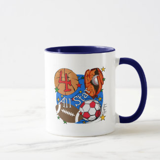 All Star 4th Birthday Tshirts and Gifts Mug