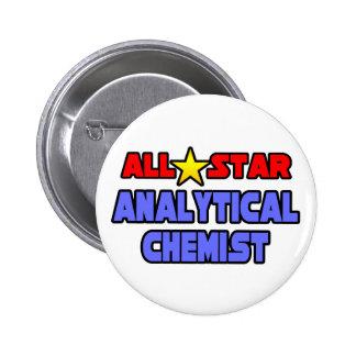 All Star Analytical Chemist 2 Inch Round Button