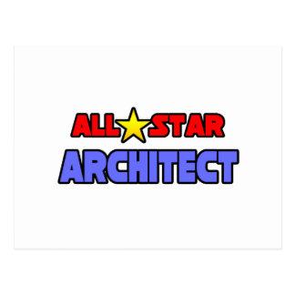All Star Architect Postcard