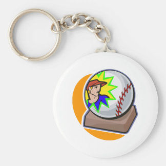 all star ball keychain