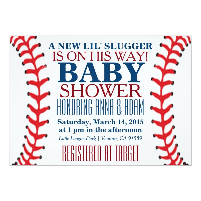 All Star Baby Shower Invitations and get inspiration to create nice invitation ideas