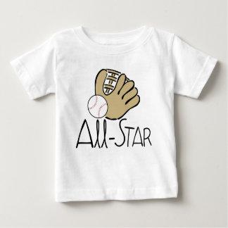 All Star Baseball Baby T-Shirt