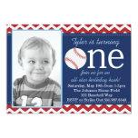 "All-Star Baseball Birthday Bash Invitation 5"" X 7"" Invitation Card"