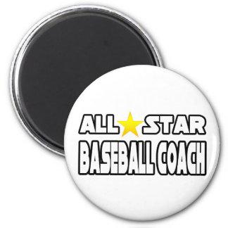All Star Baseball Coach Magnets