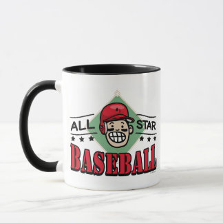 All Star Baseball Kid Mug