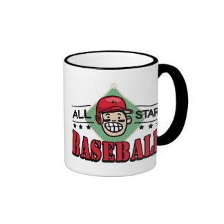 All Star Baseball Kid Coffee Mug