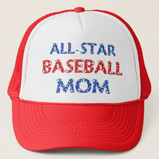 All-Star Baseball Mom Cap
