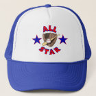 All Star Baseball Player Hat