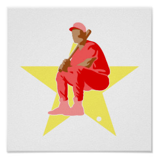 All Star Baseball Player Posters