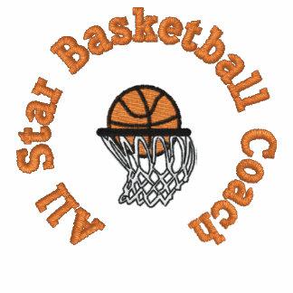 All Star Basketball Coach Polo Shirt