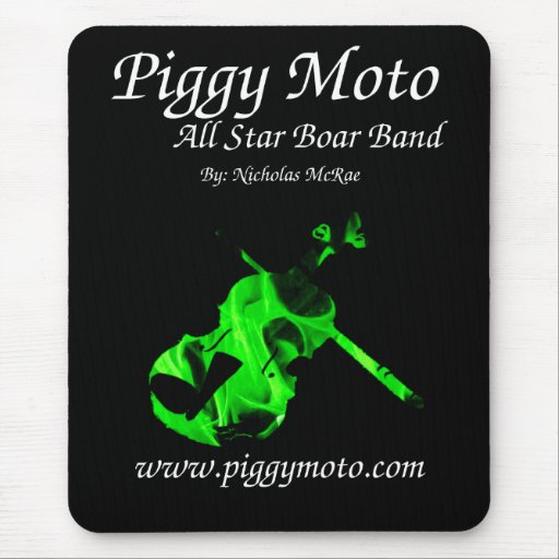 All STar Boar Band Mousemat Mousepads